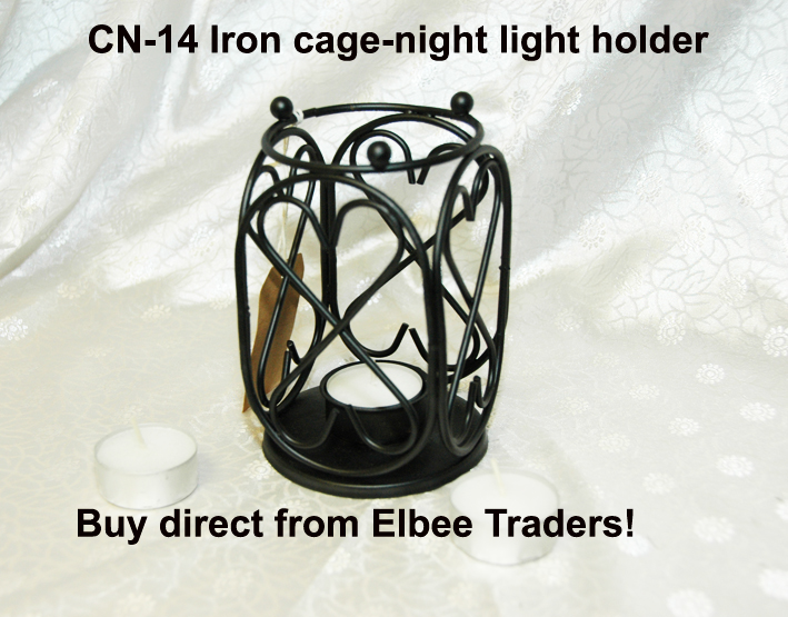 CN-14 IRON T-LIGHT CANDLE HOLDER-SPECIAL OFFER-£1.99 CLEARANCE