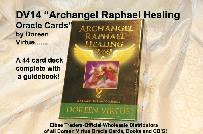 DV014 ARCHANGEL RAPHAEL HEALING ORACLE CARDS-£7.50
