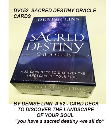 DV152 SACRED DESTINY-BY DENISE LINN 9781401956257 £9.50