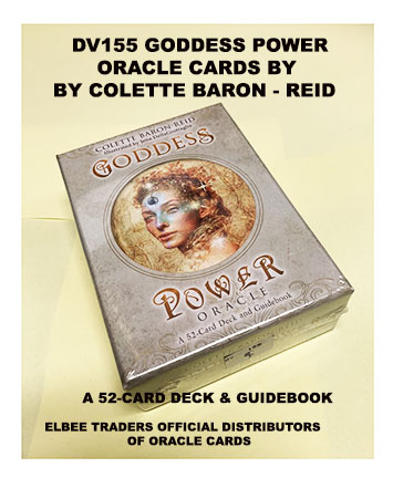 DV155 GODDESS POWER ORACLE CARDS £9.90