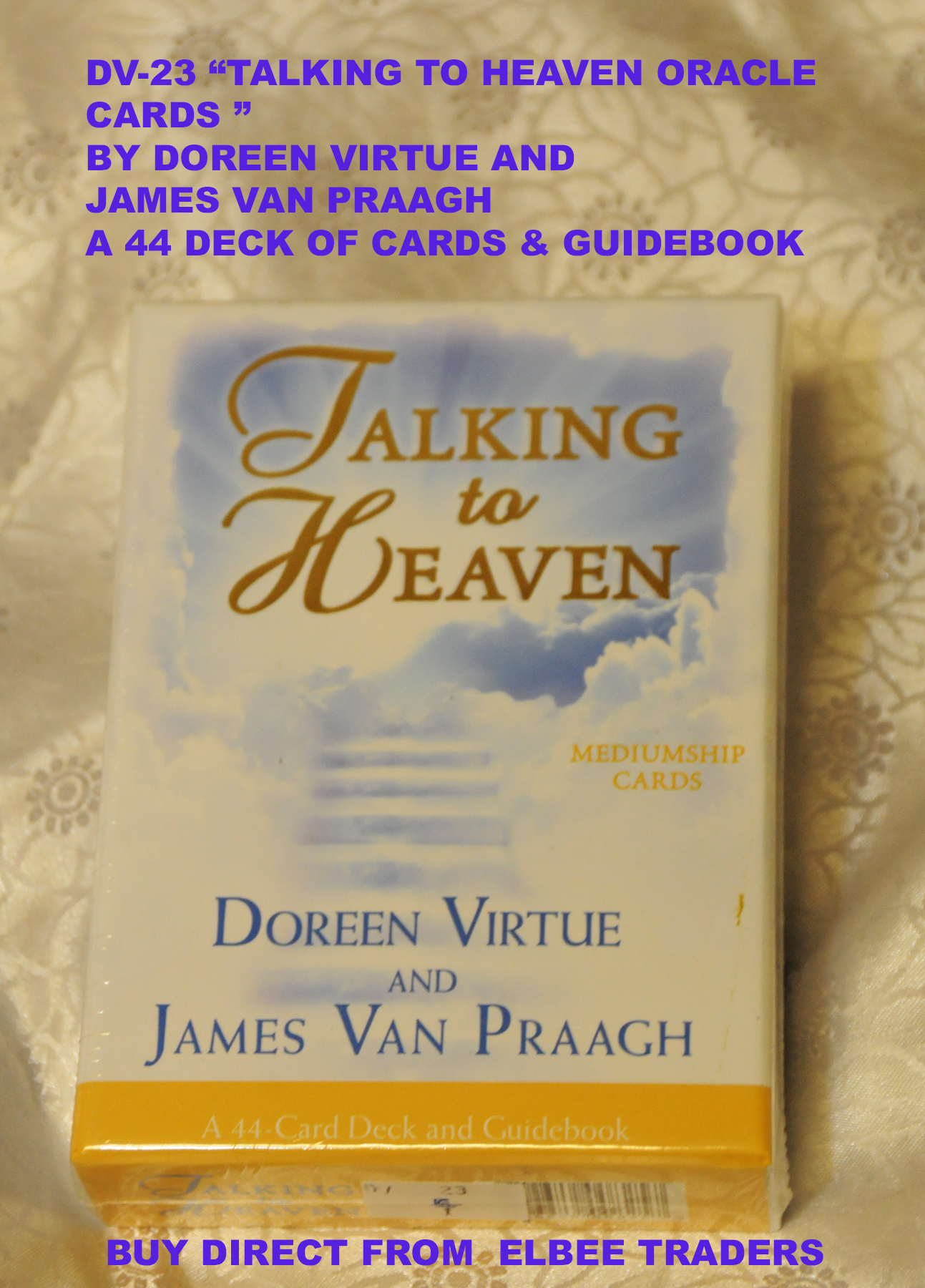 "DV23 ""TALKING TO HEAVEN -ANGEL CARDS-£7.25"