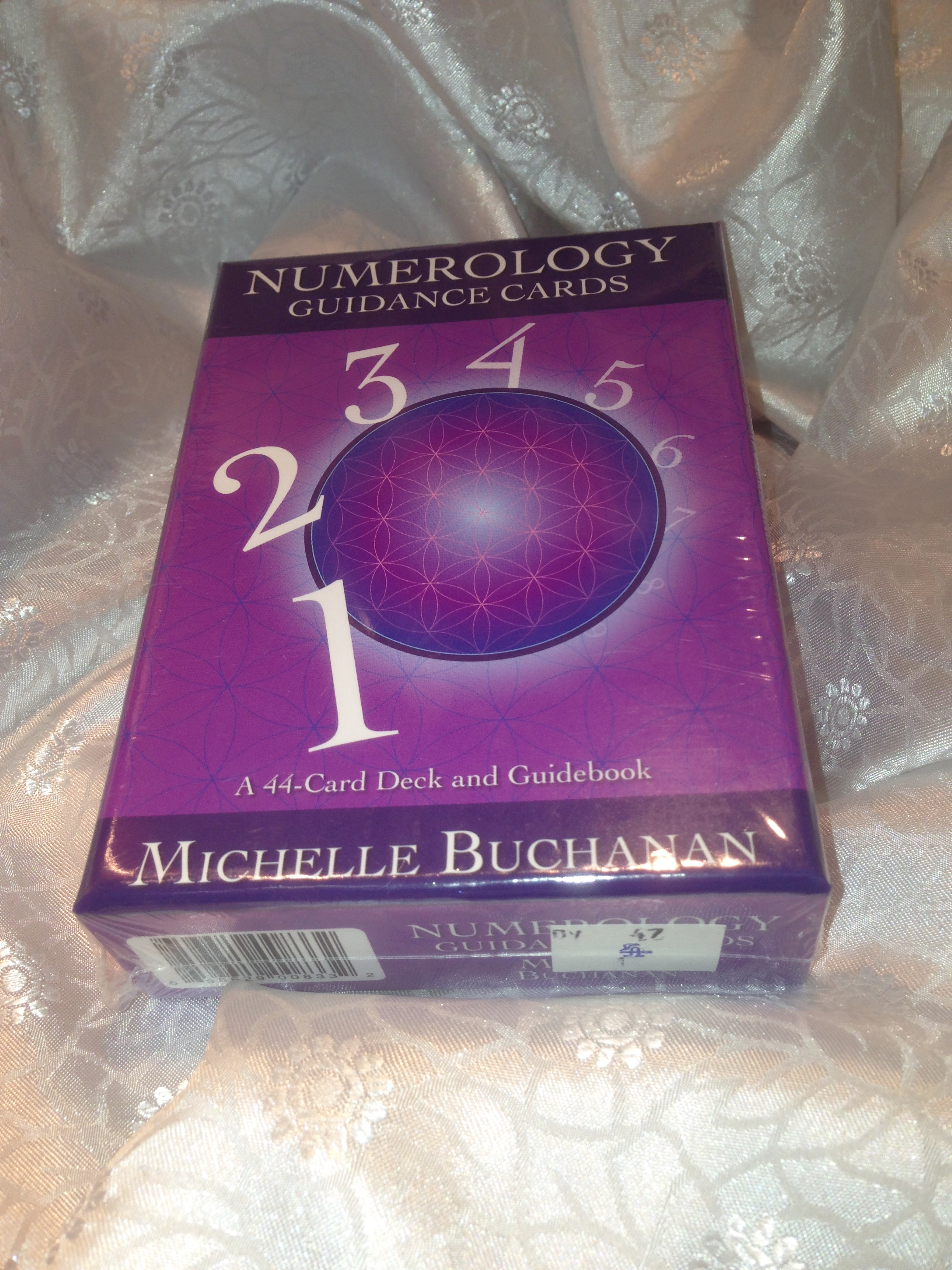 DV47 NUMEROLOGY GUIDANCE CARDS-SPECIAL PRICE £8.00