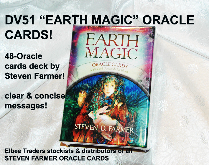 "DV51 ""EARTH MAGIC"" ORACLE CARD-STEVEN FARMER £7.25"