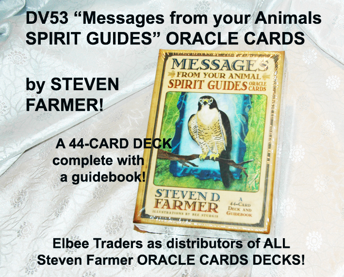 "DV53 ""MESSAGES FROM YOUR ANIMAL SPIRIT GUIDES-£7.25"