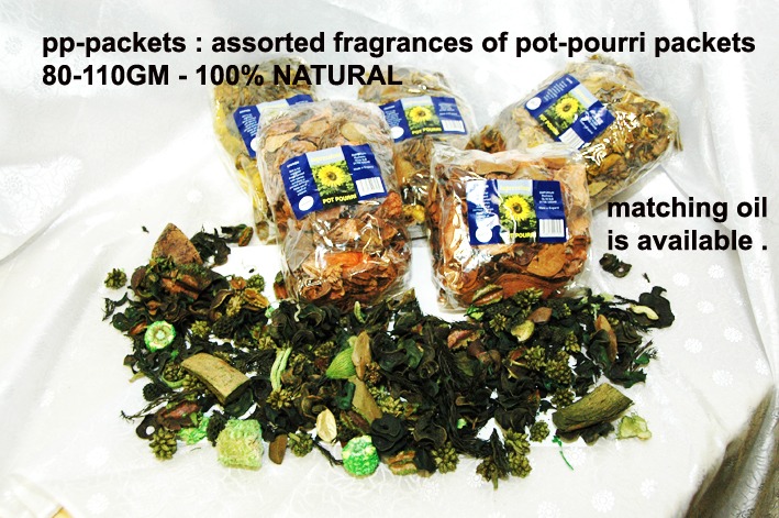 PP-AP POT-POURRI PACKETS-APPLE-FRAGRANCE-99P