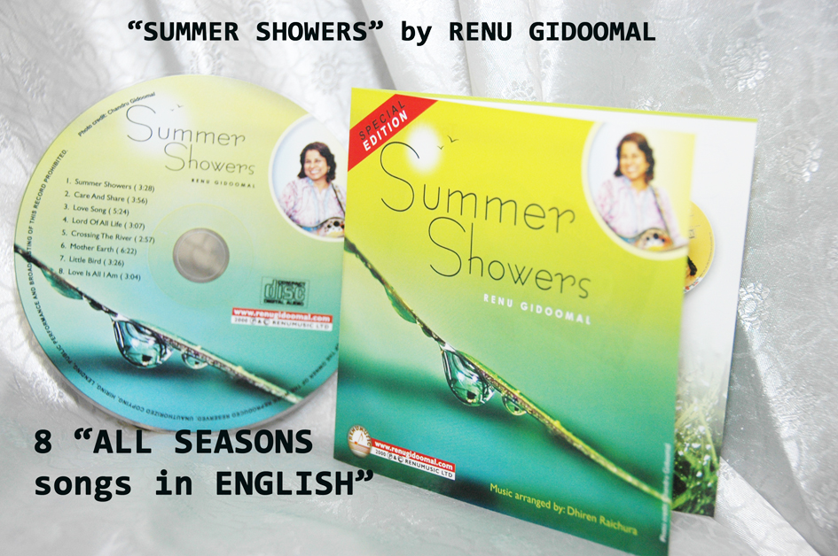 MUS/05 CD/SS SUMMER SHOWERS CD-IN ENGLISH-£2.99